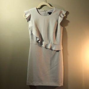 Ann Taylor Petite Ruffled dress